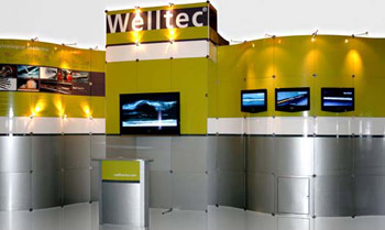 Lite Display Islands by E&E Exhibit Solutions