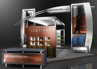 LUMITURE Displays by E&E Exhibit Solutions