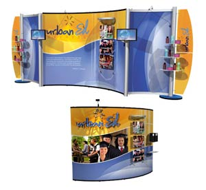 Pop-up Displays by E&E Exhibit Solutions