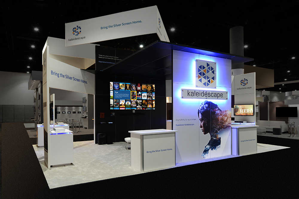 Exhibition Booth Design Award : Trade show displays portable pop up