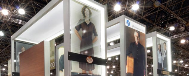 Trade Show Booth Loop : Amazon panel exhibition display for trade show degree