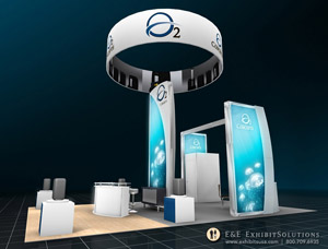 Custom Booth Rentals from E&E Exhibit Solutions