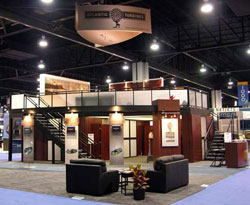 Get the View from the Top with a Double Deck Trade Show Exhibit