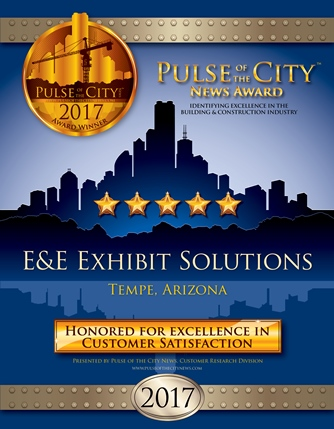 E&E Exhibit Solutions awarded customer satisfaction