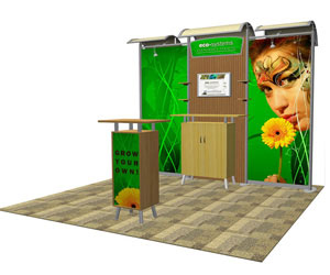 Go Green with Sustainable Trade Show Displays