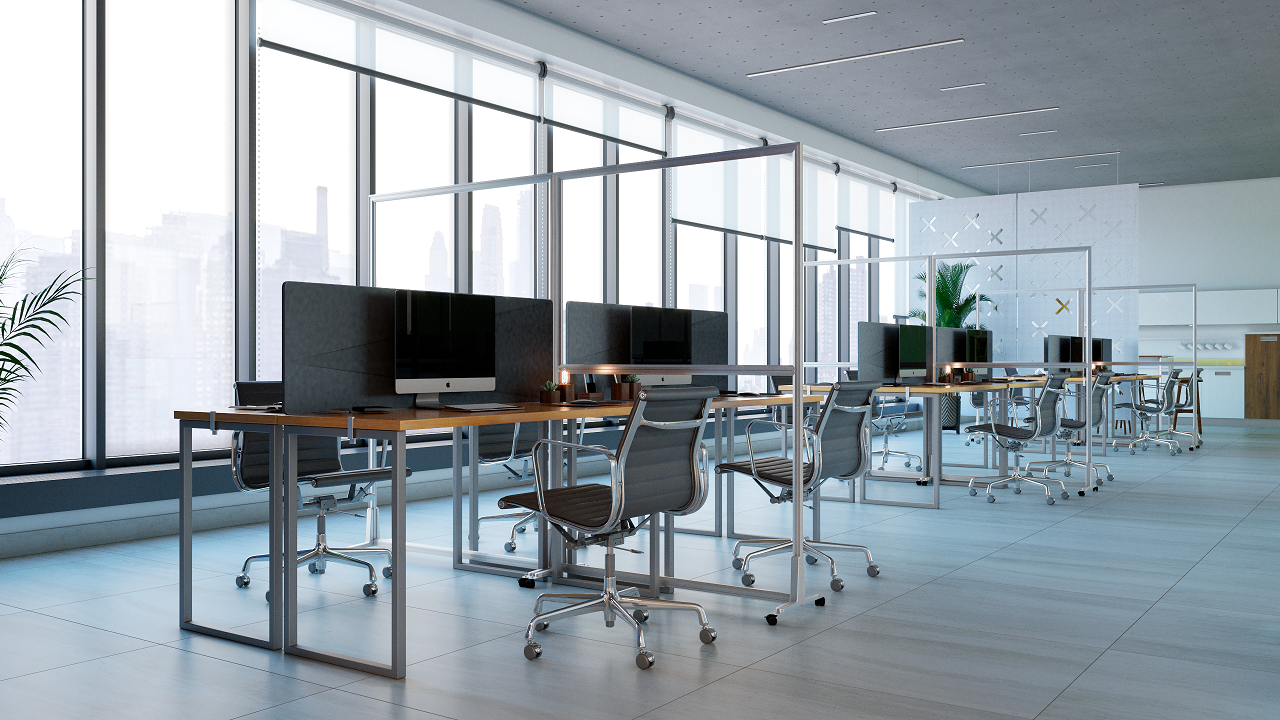 Office Partitions & Portable Room Dividers